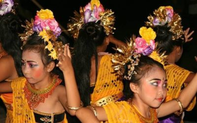 Traditional Balinese Dancing in Pemuteran, Bali